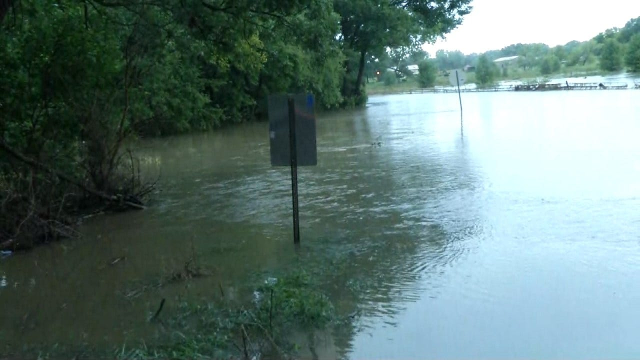 Evacuations In Montgomery County, Kansas Due To Flooding