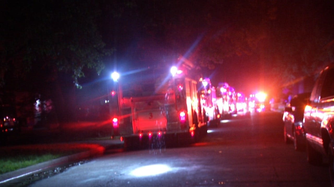 Tulsa Home Damaged In Early Morning Fire