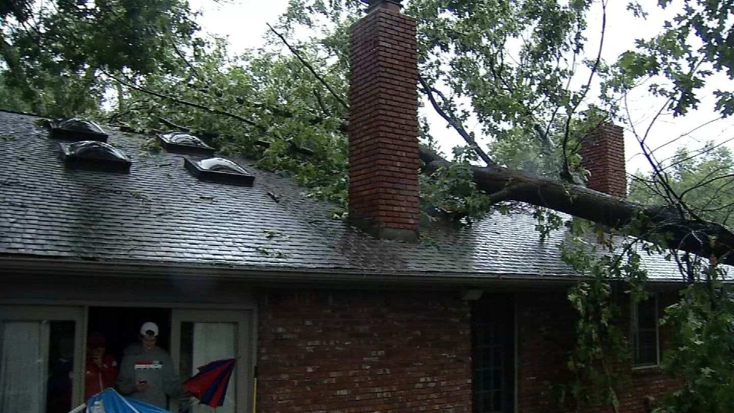 Green Country Residents Recovering From Damage Caused By Severe Storms