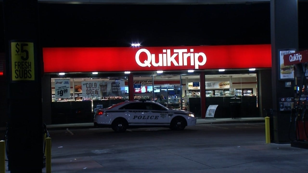 Masked Man, Armed With Handgun Robs Tulsa QuikTrip, Police Say