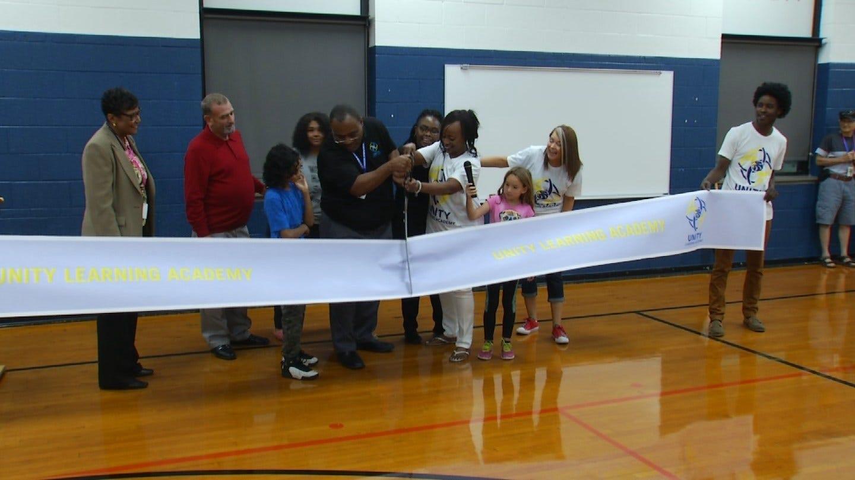 Newly Named Unity Learning Academy Holds Opening Day Celebration