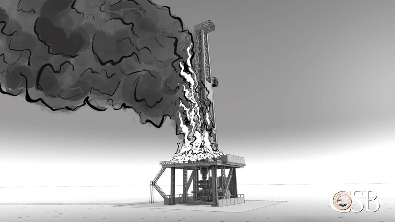 Quinton Gas Rig Explosion: Animated Timeline Released By Safety Agency