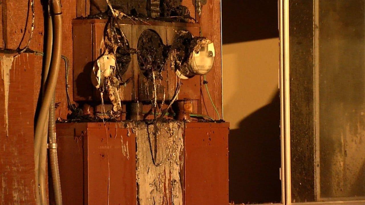 Sapulpa Apartment Damaged In Fire