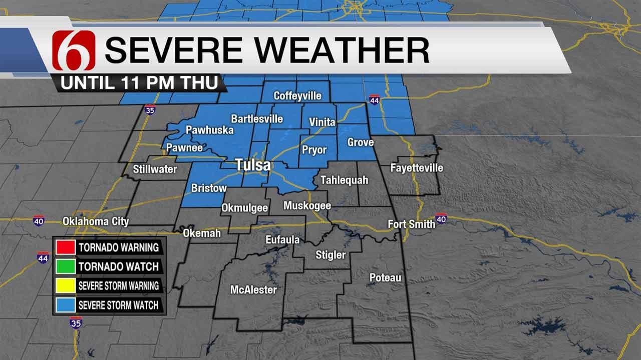 Severe Storms Cause Damage, Power Outages In NE Oklahoma