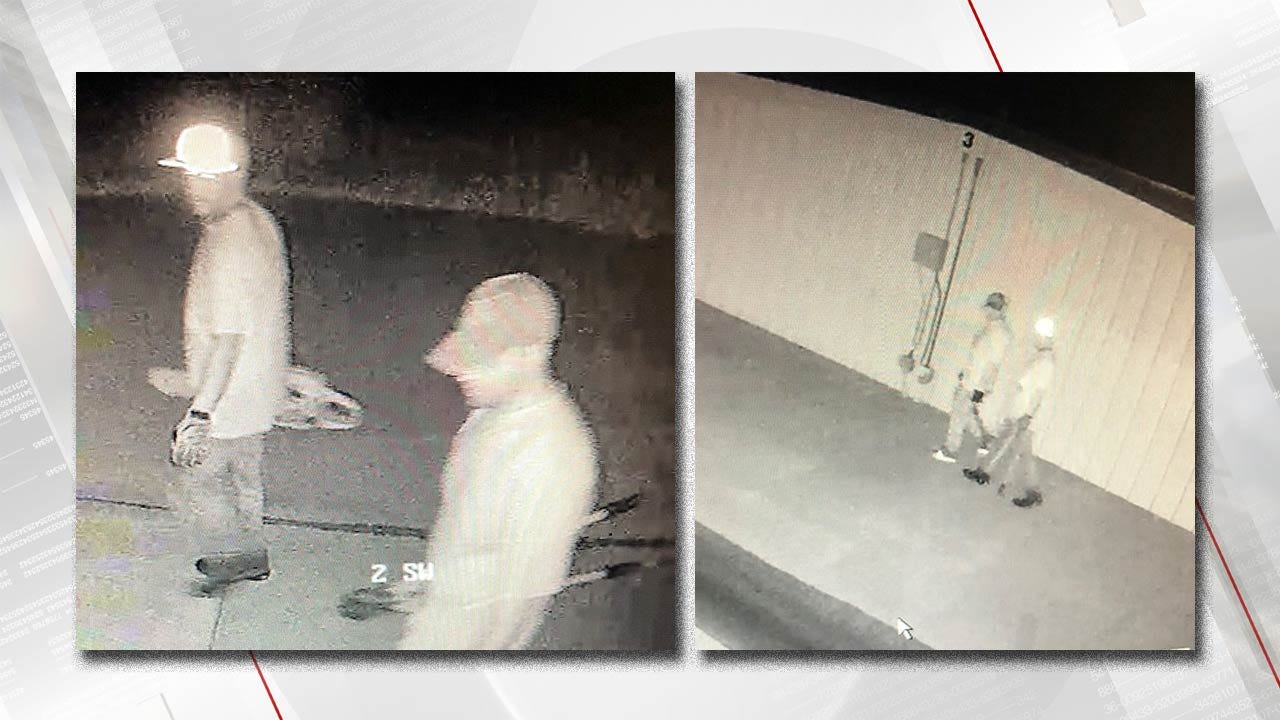 Wagoner Co. Deputies Seek Two Men Who Reportedly Stole Chainsaw