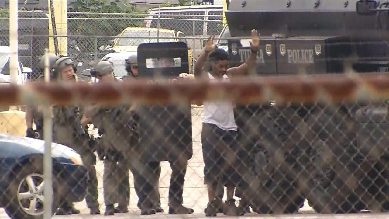 Dollar General Robbery Suspect In Custody After Tulsa Standoff