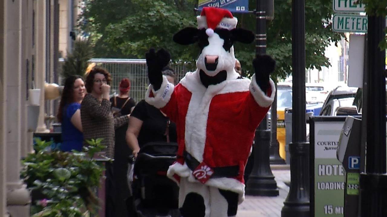Theme Announced For Tulsa's 2018 Christmas Parade