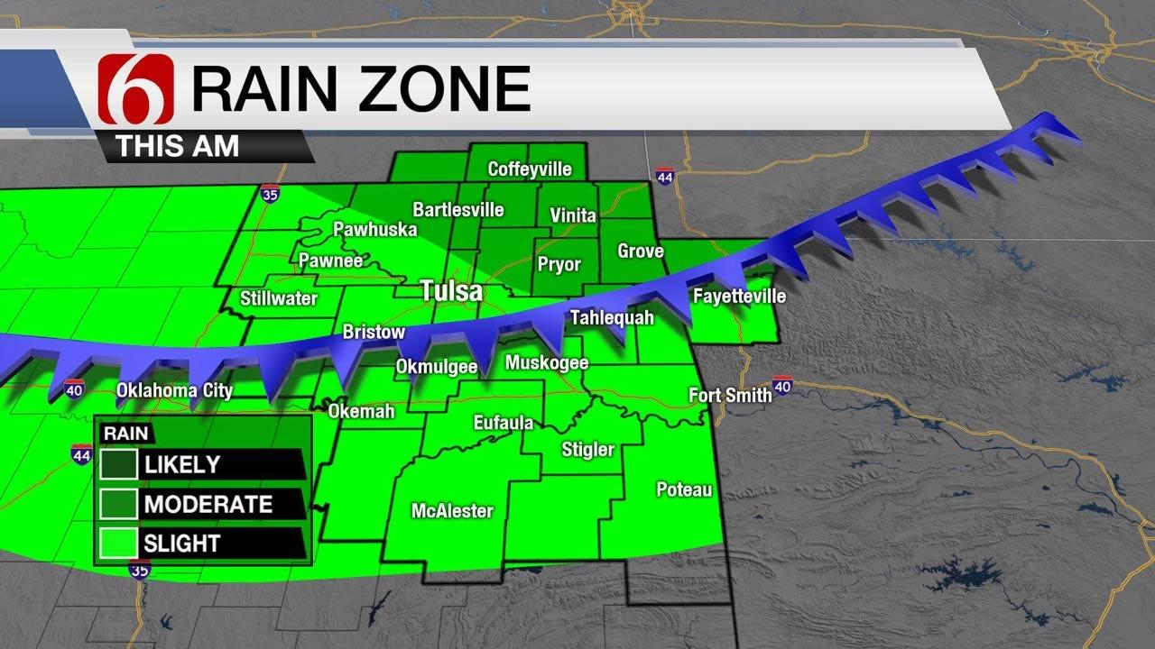 Tracking More Rain Friday Across Eastern Oklahoma
