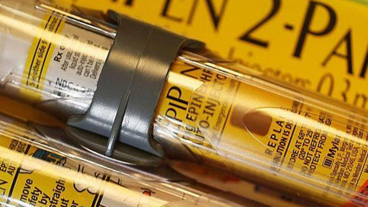 Generic EpiPen Cleared By FDA As Teva challenges Mylan