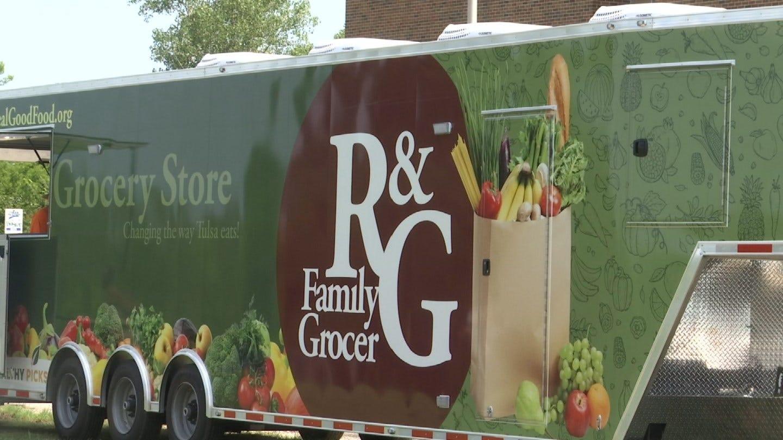 Tulsa Non-Profit Unveils New Mobil Grocery Store