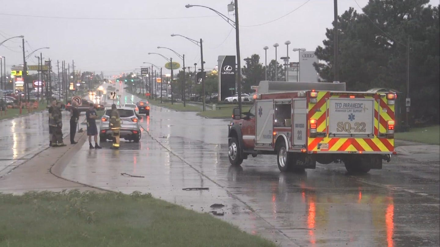 High Water, Flash Flooding Cause Problems Across Green Country