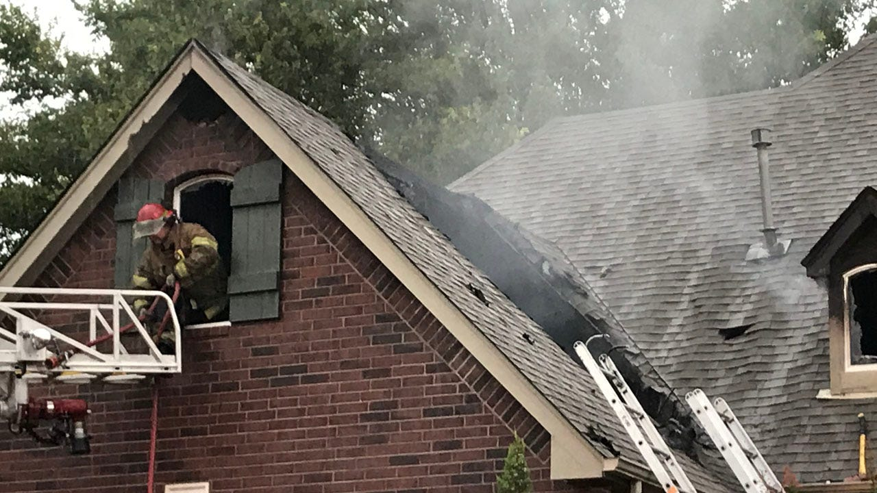 Lightning Strike Likely Cause Of Sunday Morning House Fire