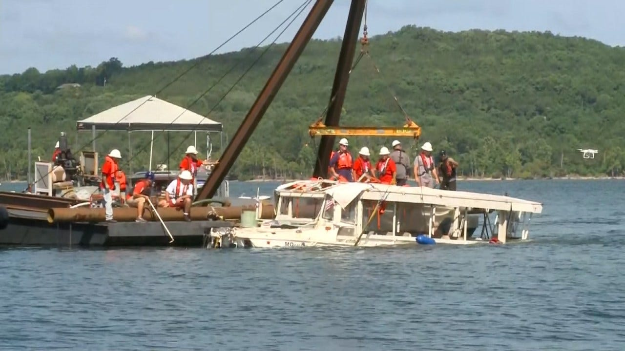 Coast Guard: Branson Duck Boat Violated Inspection Terms
