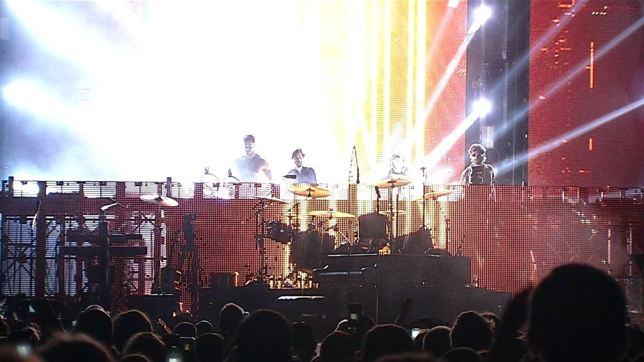 Imagine Dragons Perform At Tulsa's BOK Center