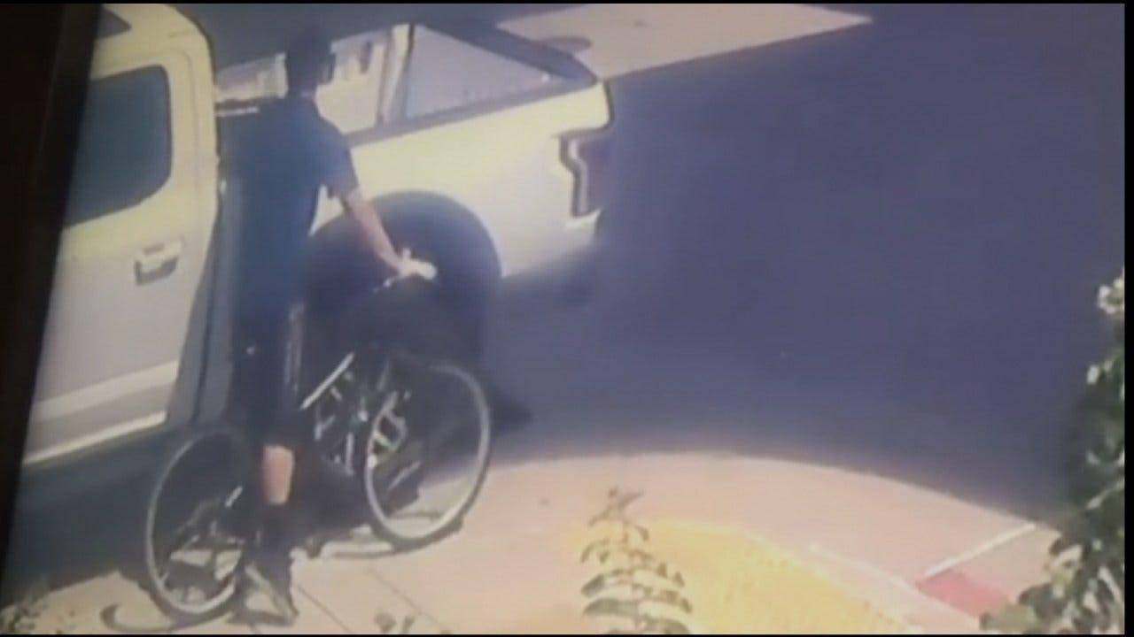 Suspected Catoosa Larceny Caught On Surveillance Video, Police Say