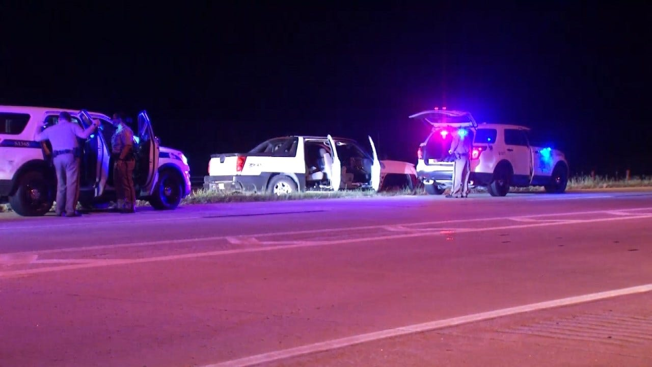 Tulsa Co. Deputies Arrest Two In Pickup Following Chase