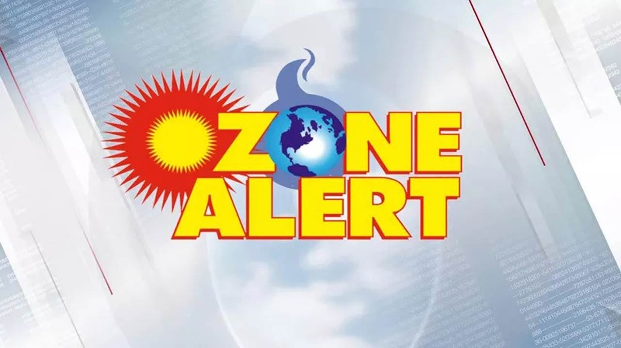 Warm Today With An Ozone Alert For The Tulsa Area