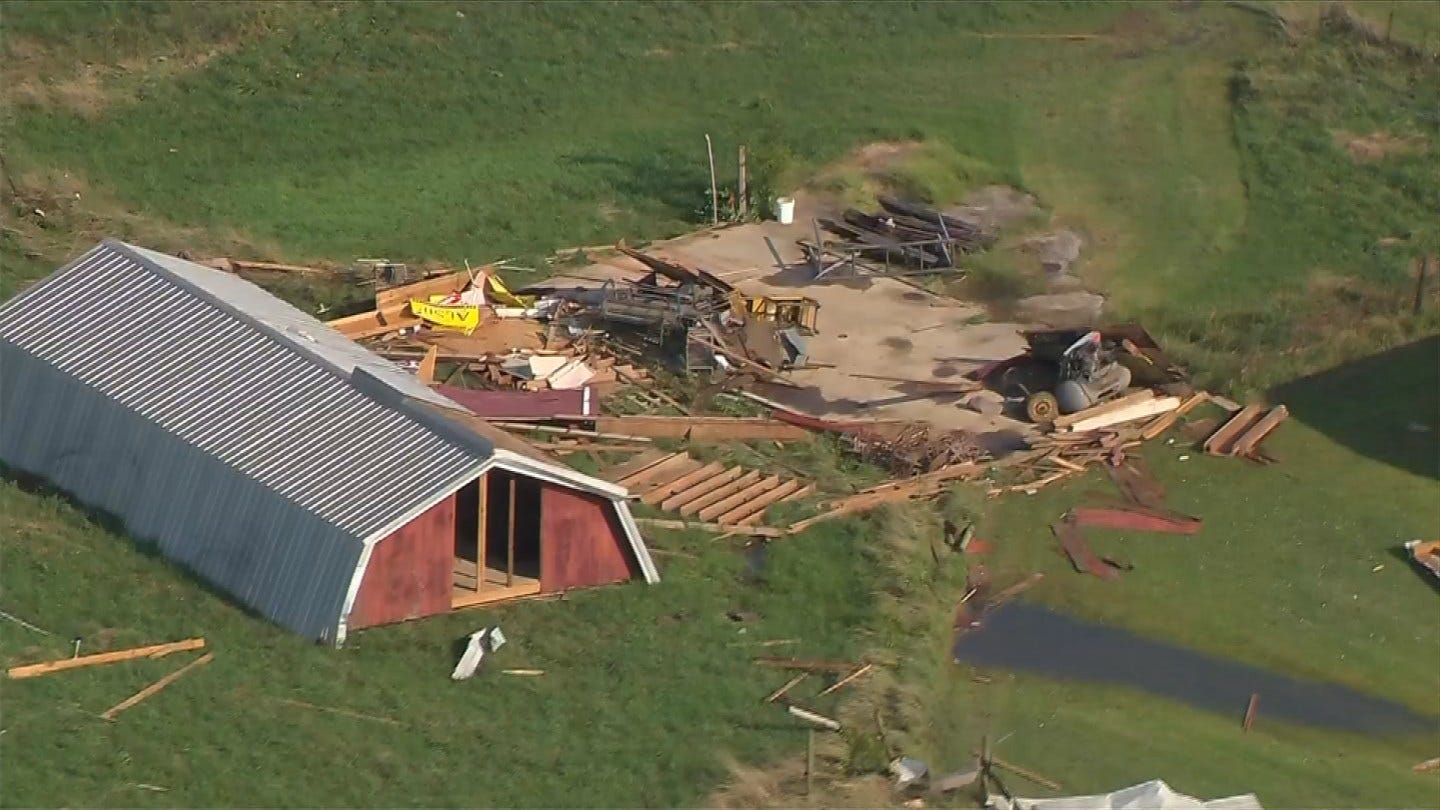NWS Confirms Two Tornadoes In Rogers, Mayes, Wagoner County Area