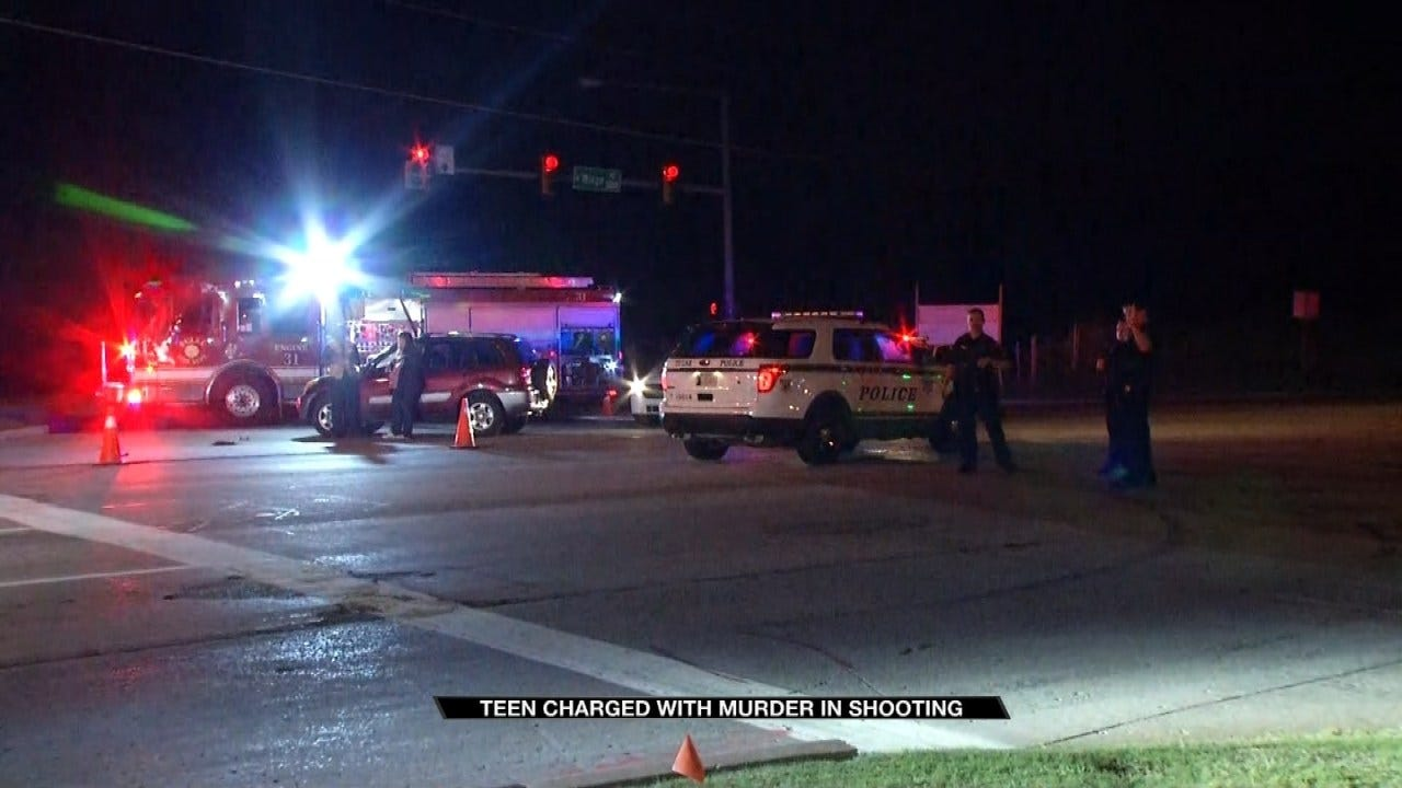 Owasso Teen Charged With Murder In Connection With Tulsa Homicide