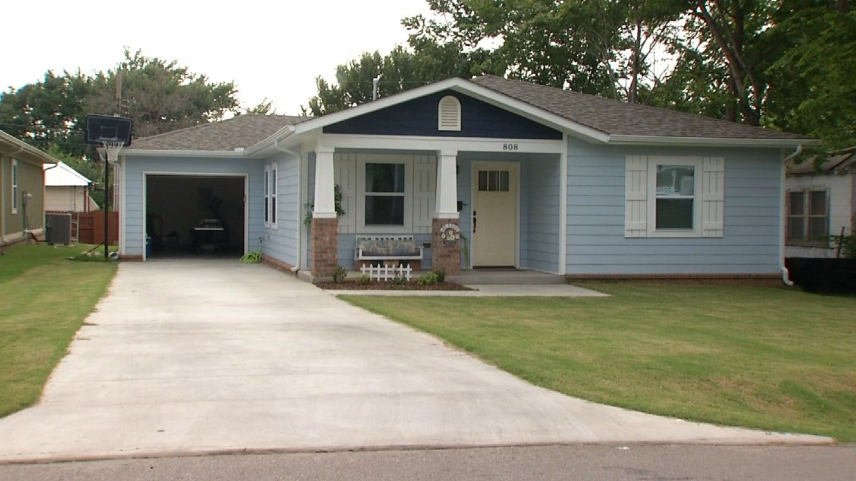 Habitat For Humanity And Tulsa Church Provide New Home For Tulsa Family