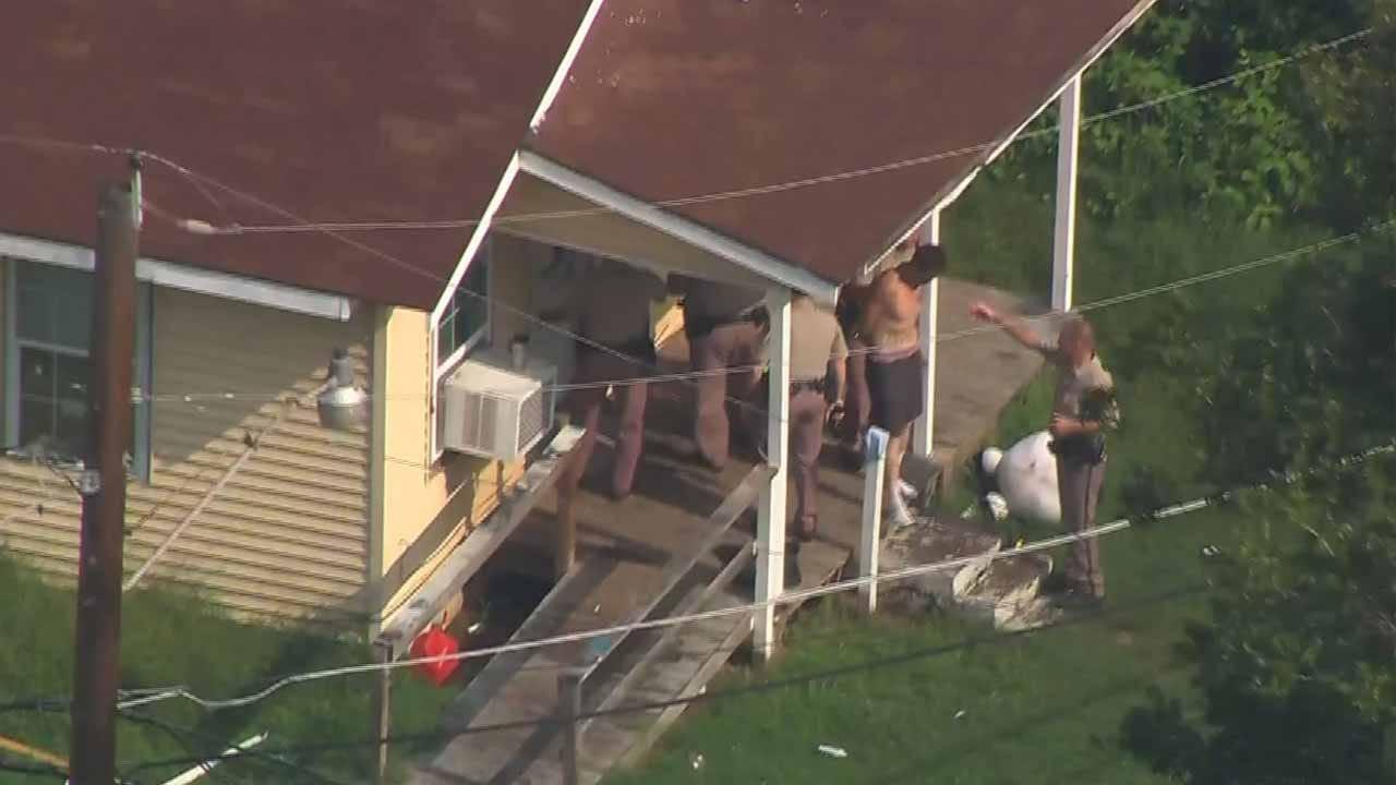 Three People In Custody Following Chase With Tulsa County Deputies