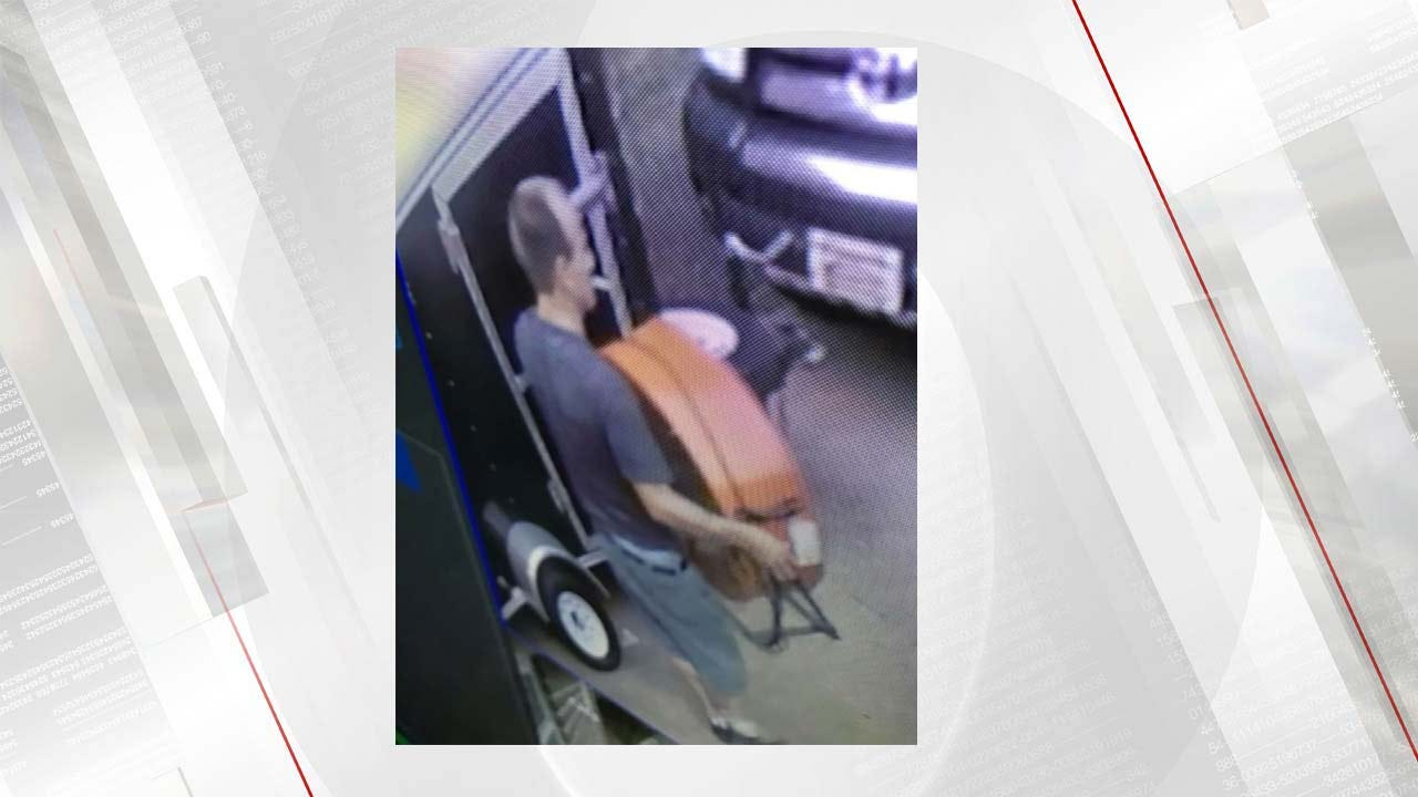 TPD: Equipment Trailer Theft Caught On Camera