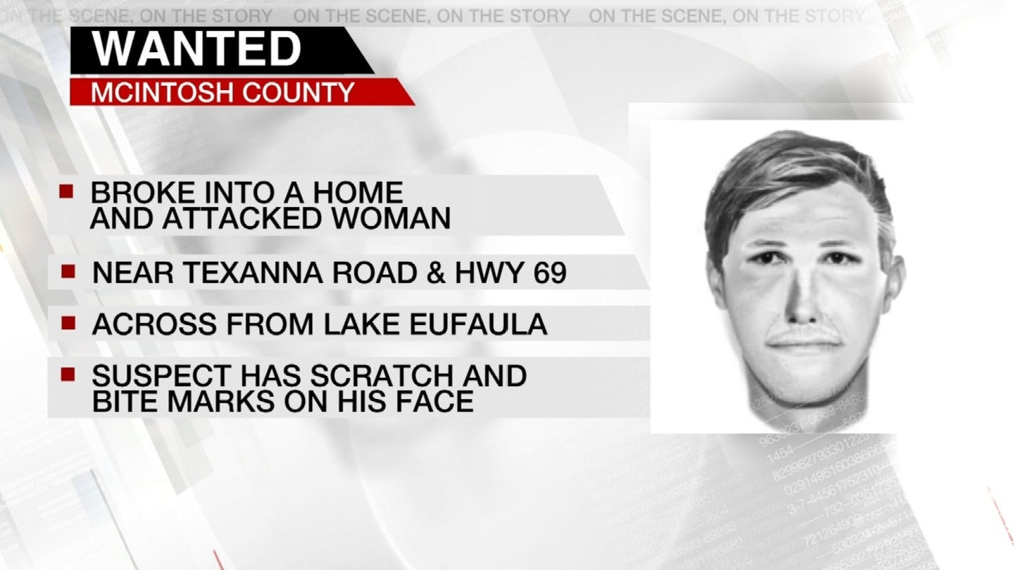 Man Wanted For Burglary Assault In McIntosh County