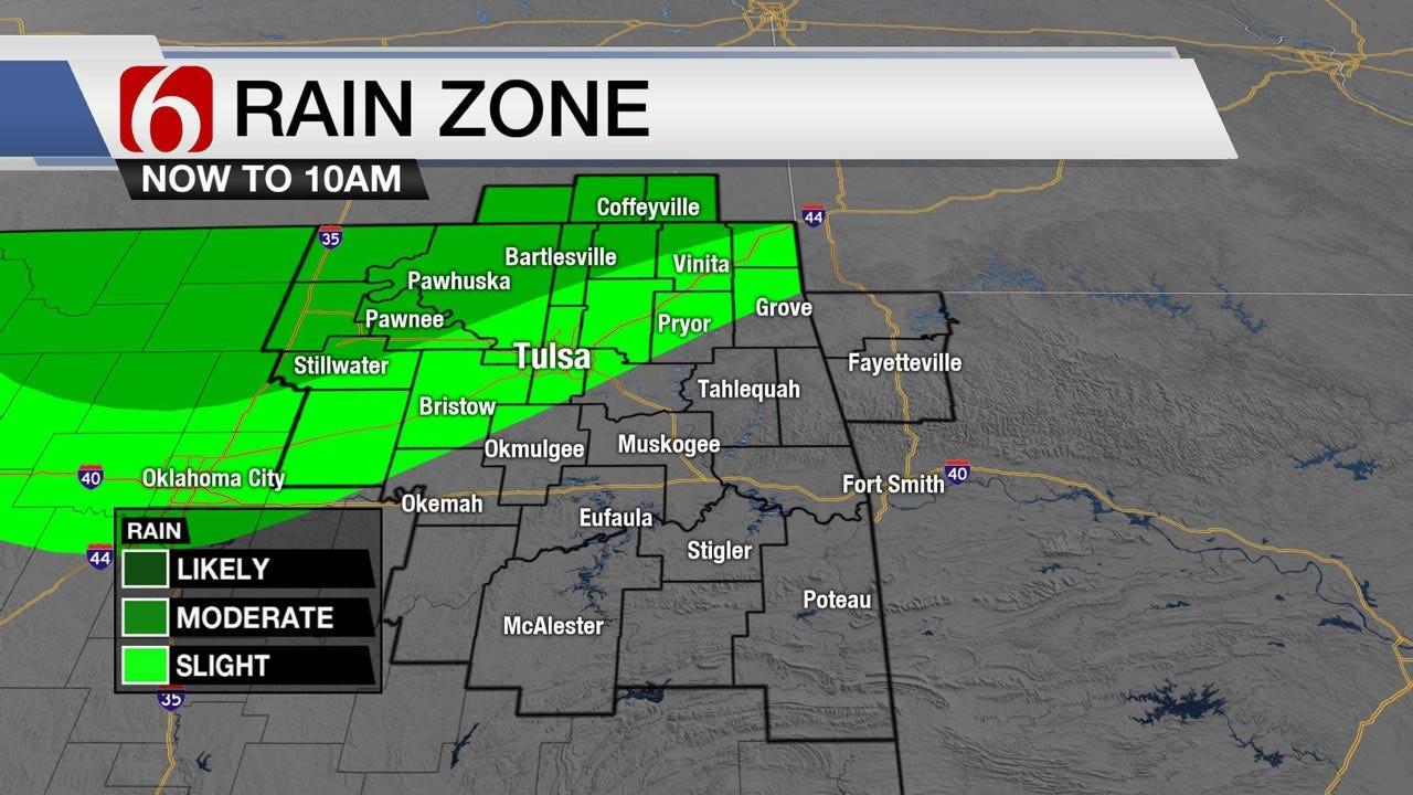 Showers Ending & Summer Temps Return Across Oklahoma