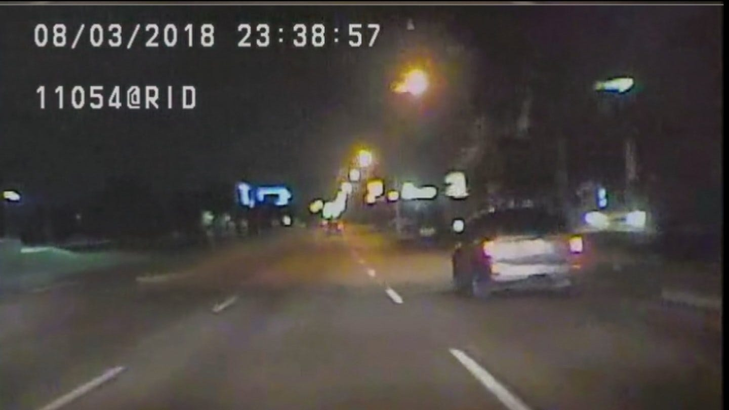 TPD Officer Shares His Story After Suspects Attempted To Run Him Over