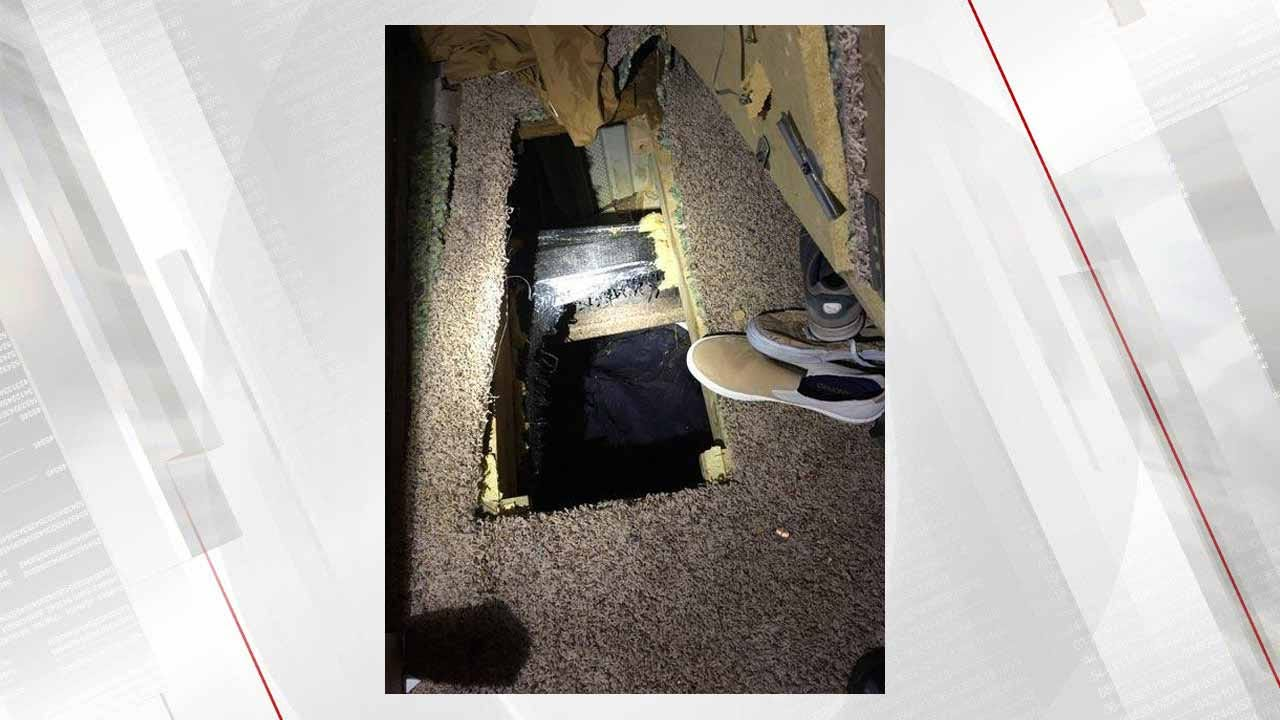 Wanted Wagoner County Man Found In Elaborate Crawl Space
