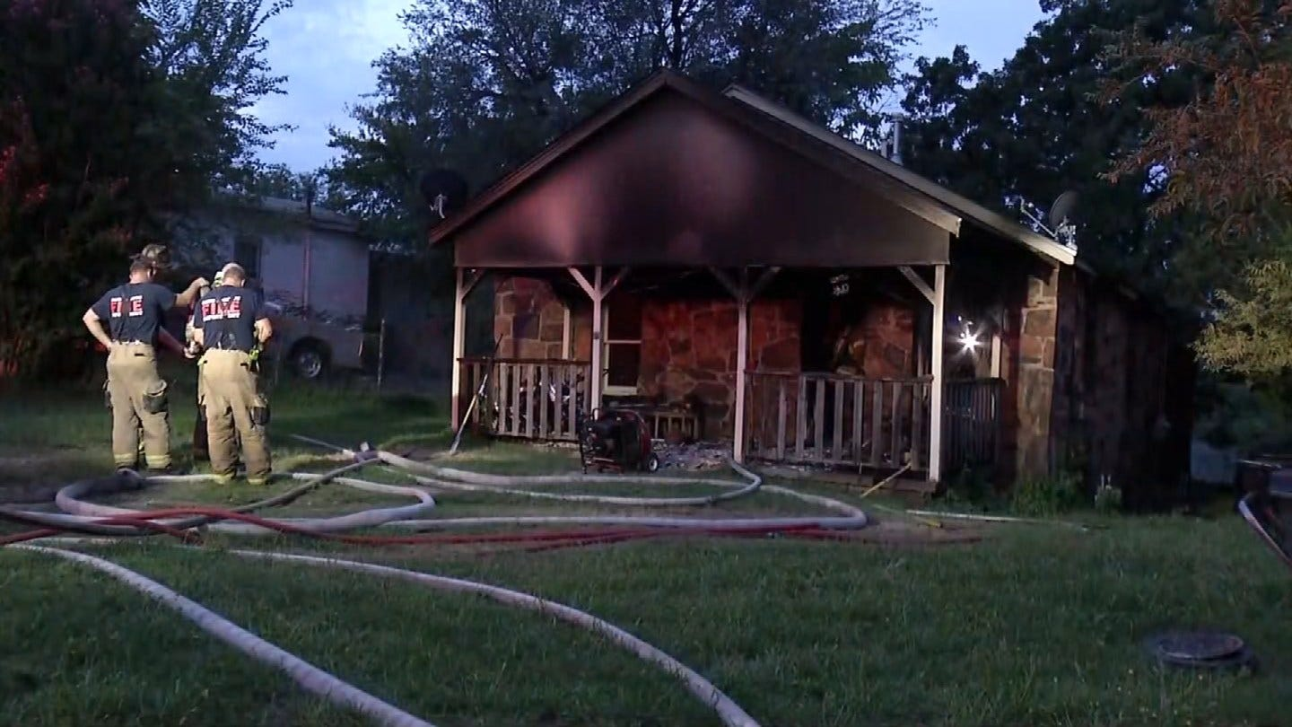 Sand Springs Teen Saves Family From Early Morning House Fire