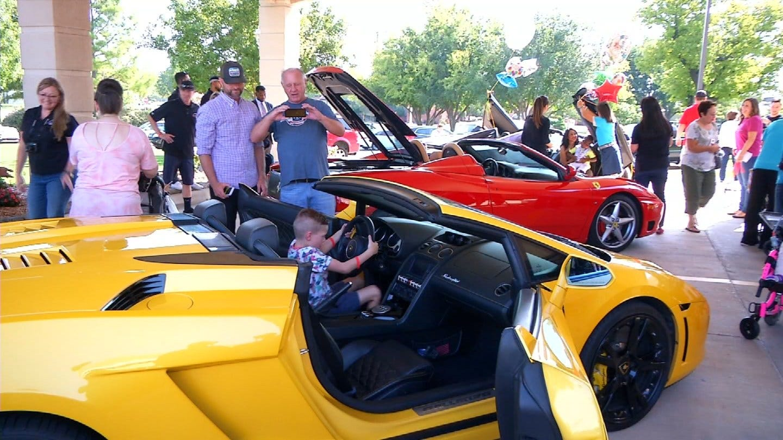 Oklahoma Non-Profit Brings Exotic Cars To Sick Children