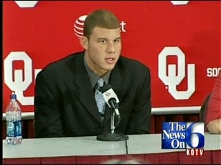 OU Dedicates Performance Center Named For Blake Griffin Family