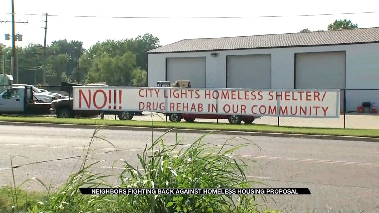 Some Turley Residents Not Happy With Proposed Homeless Village