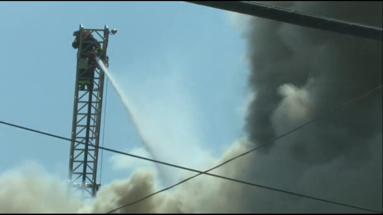 Downtown Locust Grove Staple A Total Loss After Fire
