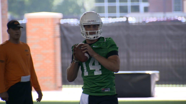 New OSU Quarterback Awaits Debut Against Missouri State