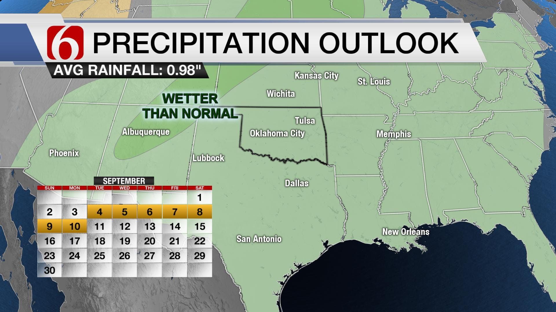 Sweltering Heat & Storms to Close Out August
