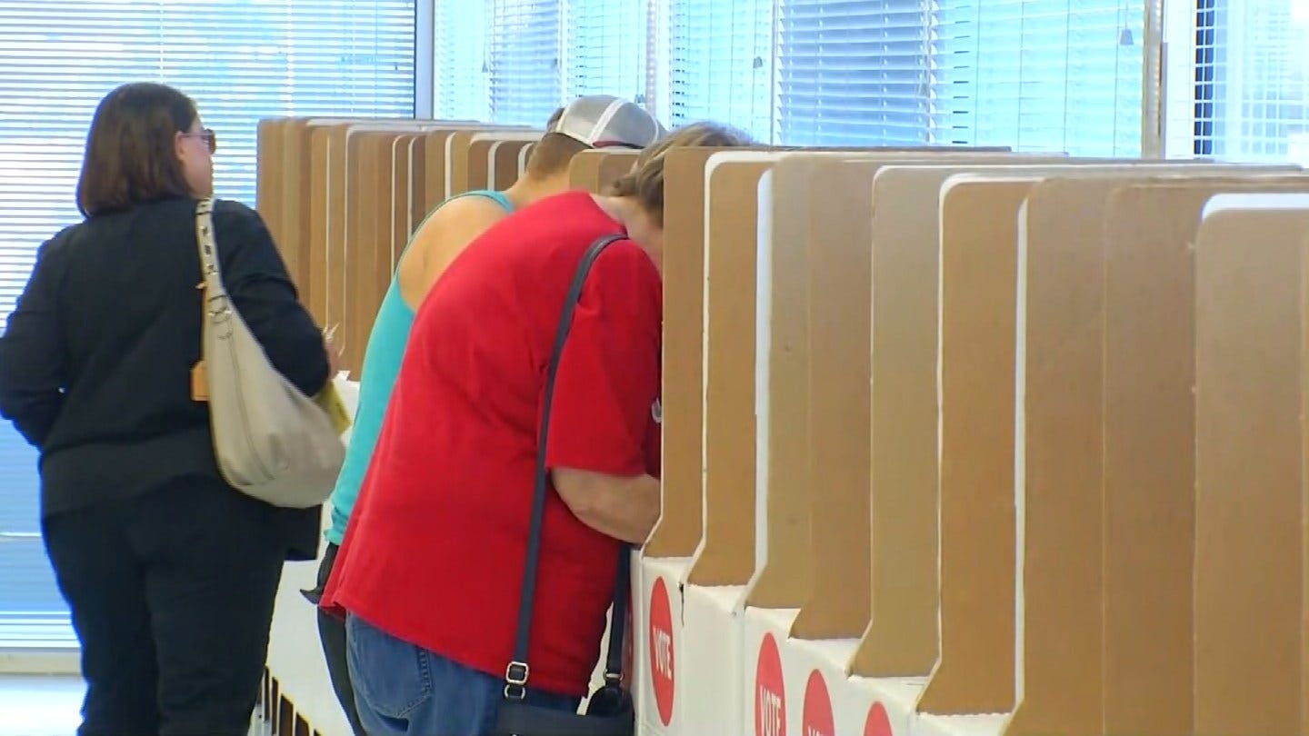Tulsa Co. Election Board Says It's Ready For Voters