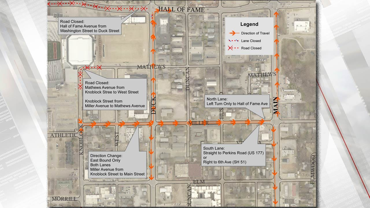 Stillwater: 500 Free Parking Spaces For Thursday's OSU Football Game
