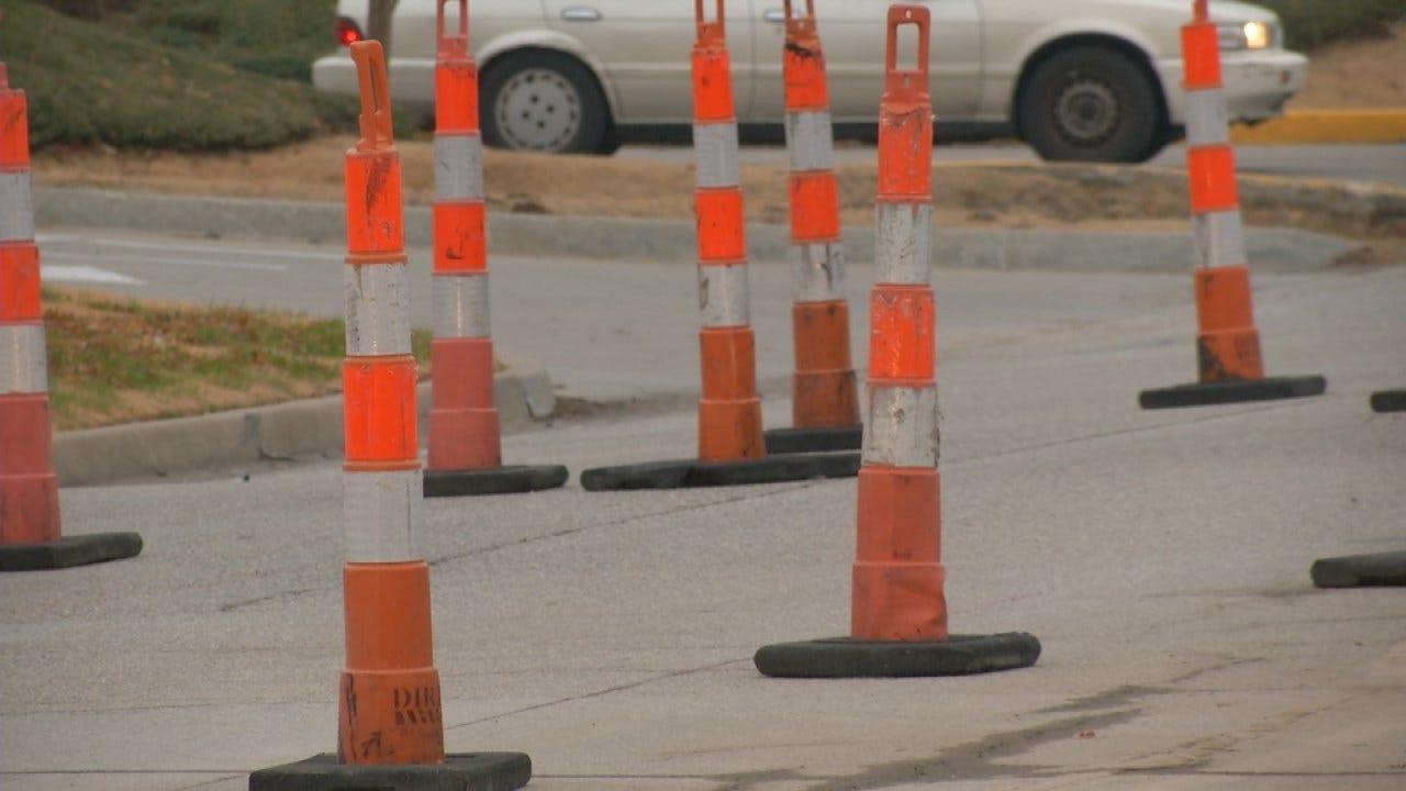 Tulsa Resurfacing Stretch Of 91st Street Underway