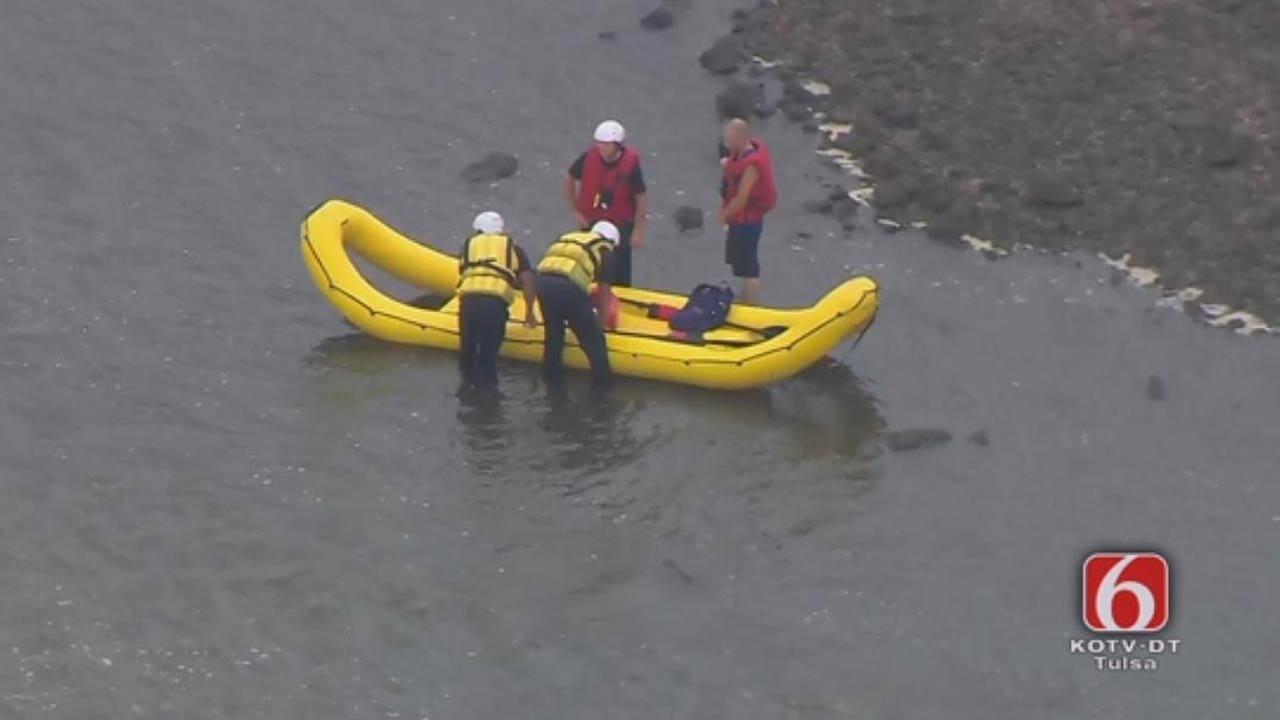 Arrowhead Seeker Rescued From Arkansas River In Sand Springs