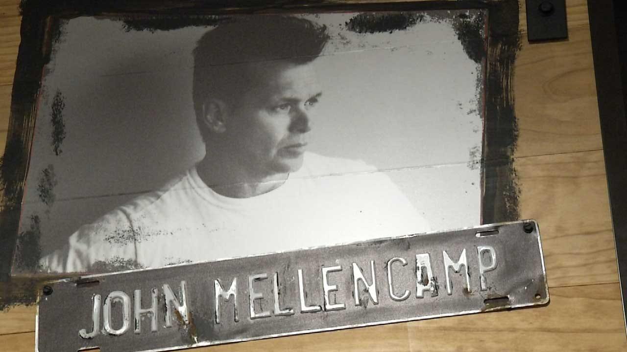 John Mellencamp Exhibit Opening At Woody Guthrie Center