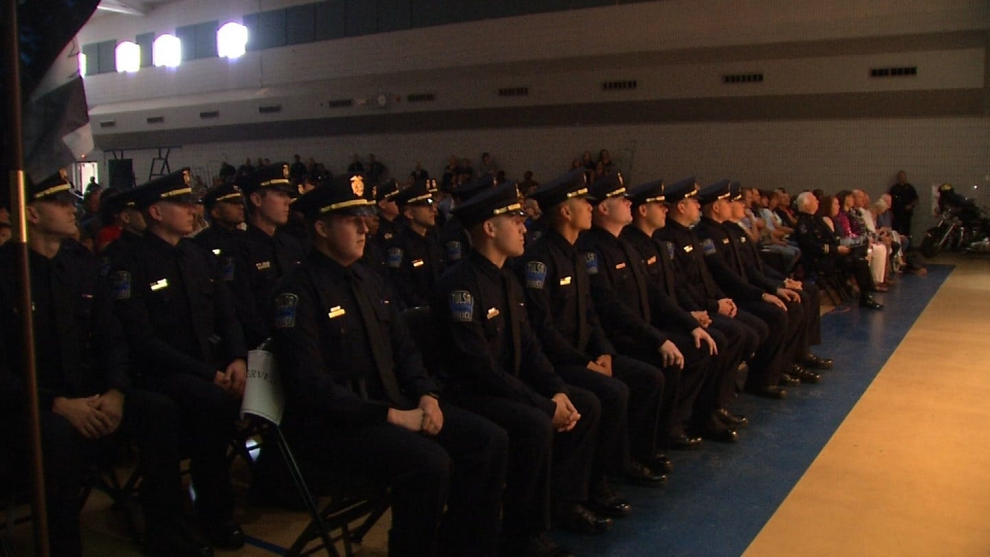 Tulsa Police Department Recruits Graduate Police Training Academy