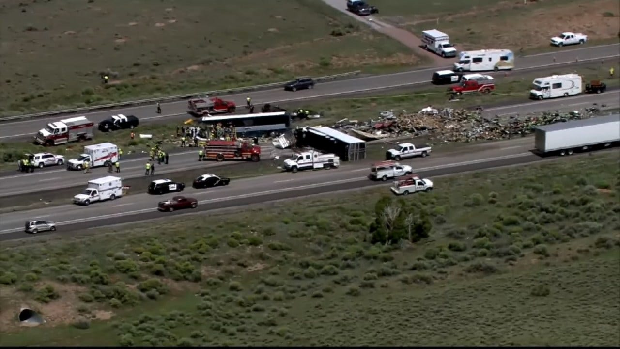 New Mexico Greyhound Bus Crash, Kills At Least 7, Made Stop In Tulsa