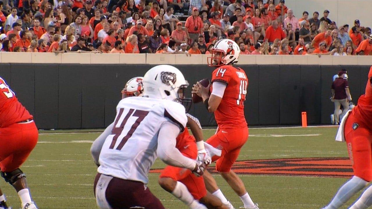Oklahoma State Defeats Missouri State 58-17