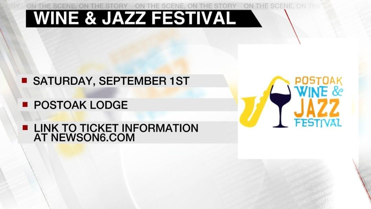 Post Oak Wine & Jazz Festival This Weekend
