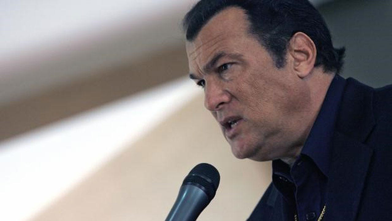 Russia Names Action-Movie Star Steven Seagal As Envoy For U.S.