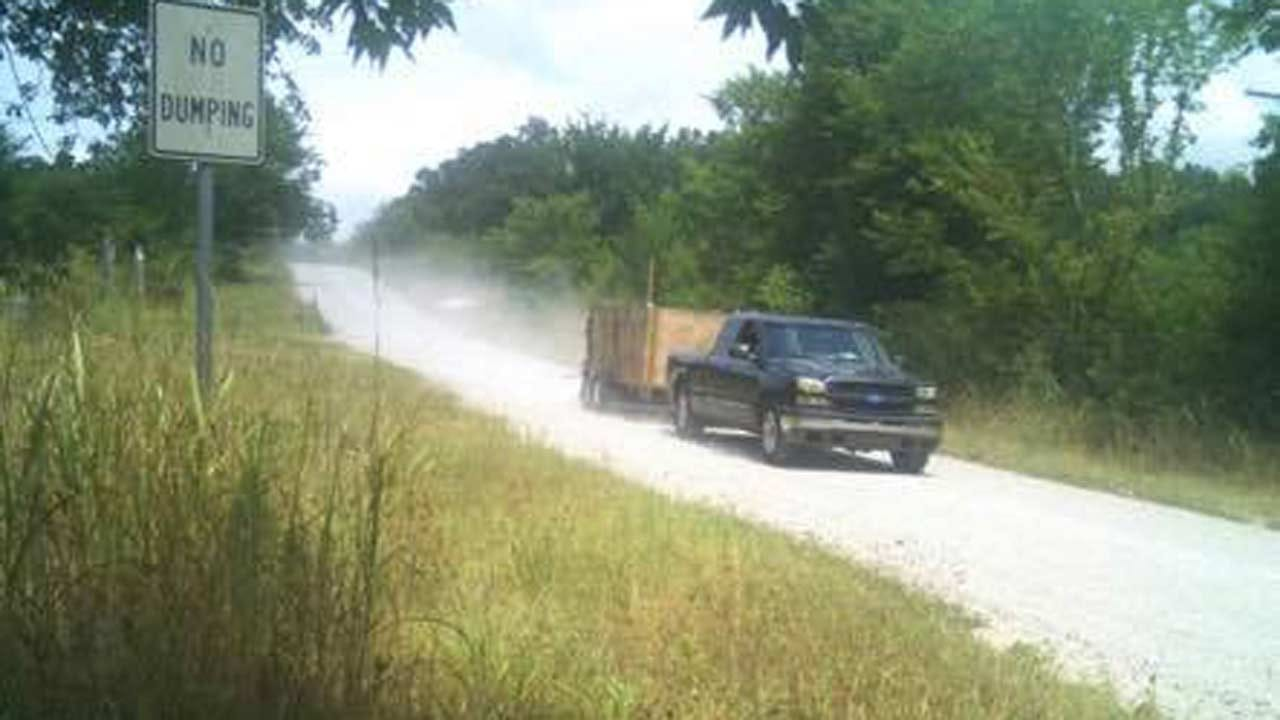 Osage Deputies Looking For Trash Dumping Suspect