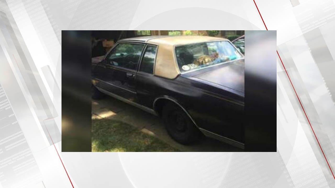 TCC Student Looking For Help Finding Unique Stolen Car