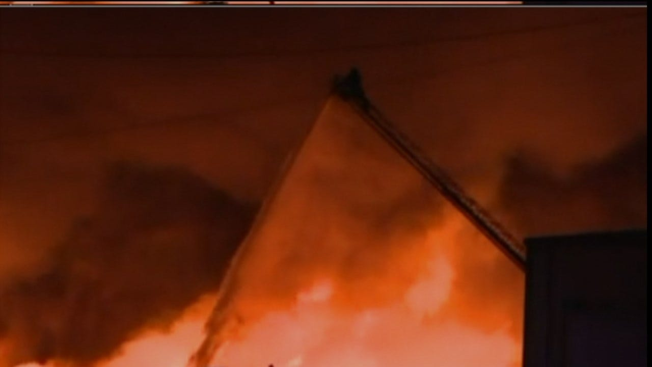 Large Fire Damages Fort Smith Business